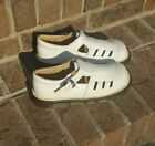 GUC Womens Vintage VTG Dr Martens Mary Jane Flats Off White Brown Sz 4