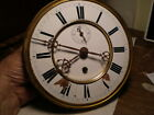 Antique Vienna Regulator Clock 1 Wt Movt Ca1870 To Restore M254