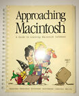 Apple Approaching Macintosh Reference Manual Guide Book 1986 Bloom County RARE