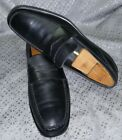 TODS black LEATHER MENS DRIVING LOAFER SLIP ON SHOES SIZE US 95