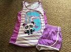 Justice Girls Gymnast Outift Size 8 SUPER CUTE