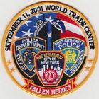 FALLEN HEROES SEPT 11 2001 WORLD TRADE CENTER TWIN TOWERS 5 ROUND