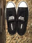 Converse Chuck Taylor All Star Black Shine Low Top Shoes Womens Size 6