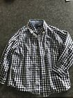 Tommy Hilfiger Toddler Boys Blue Checked Shirt Size 3T EUC