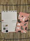 Kawaii Cat Stationary Letter Set Cat Paper Envelopes And Stickers