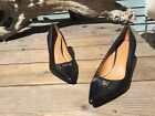178 Coach Zan Pointed Toe Womens Pumps Black Size 9 M