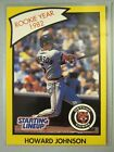 *Rare* 1990 Kenner Starting Lineup Cards #41B Howard Johnson RY *Hard to Find*