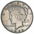Early Better 1922 S Peace Silver Dollar 90 US Coin 087