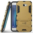 For Galaxy On5 (2016 Only) / J5 Prime Case Armor Kickstand Slim Cover Gold