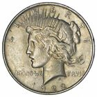 Early 1922 Peace Silver Dollar 90 US Coin 817
