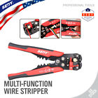 8 Self Adjusting Wire stripper Cable Cutter Crimper Electricians Crimping Tool