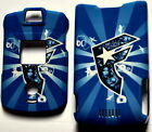 BLUE Motorola V3 V3c v3m RAZR Faceplate Cover case razor phone SNAP ON HARD