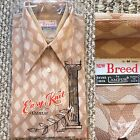 Vintage Vtg 1970s 70s Deadstock NOS Now Breed by Campus Short Sleeves Shirt