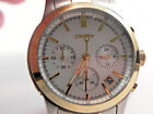 Men's DKNY Wrist Watch-#NY8061-New Batt.-H2O Rst.-MOP Dial-NWT-Two Tone-Cal.Date