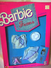 VINTAGE 1988 JEANS FASHION OUTFIT BARBIE DOLL NEW NRFB