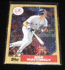 Don Mattingly  2017 Topps 87 Silver Pack Chrome Book Value  500