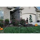 Halloween Inflatable Spider Mega Web Outdoor Decoration Terrify Your Neighbors