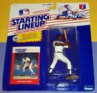 1988 LOU WHITAKER Detroit Tigers Rookie  - Kenner Starting Lineup