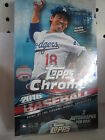 2016 TOPPS CHROME BASEBALL SEALED HOBBY BOX