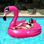 Pool Float Inflatable Flamingo Swimming Toy Giant Water Raft Tube Pink Huge NEW