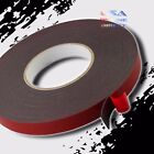 2pc Double Sided acrylic Foam High Strength Adhesive Tape 60 Ft 1 2 Width roll