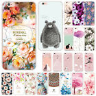 Shockproof Painted Ultra Thin Soft TPU Rubber Case Cover For iPhone X 6 7 8 Plus