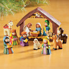 XMAS Nativity Scene Manger 9 Piece Set Perfect for Children