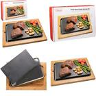 Premium Cooking Lava Stone Hot Platter And Cold Rock Hibachi Grilling Stone Set