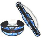 NEOPRENE CHAIN DIPPING LIFTING NEOPRENE GYM BACK DIP BELT WORKOUT WEIGHT PULL