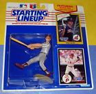 1990 VON HAYES Philadelphia Phillies - low s/h - Starting Lineup 1982 bonus card