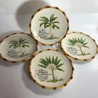 Fitz and Floyd Cape Town Luncheon or Salad Plates Set of 4