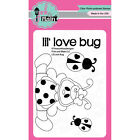 Pink  Main Clear Stamps 3X4 Lil Love Bug PM0108