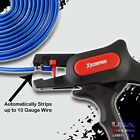 Automatic Multi Gauge Adjustable Wire Cable Stripper  Cutter up to 10 AWG Wire