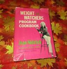Vintage 1976 Weight Watchers Program Cookbook by Jean Nidetch Pink New American