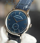 A. Lange & Sohne  Saxonia Thin WHITE Gold 37mm Manual Wind Watch NEW BNIB 2017