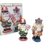 Fitz And Floyd Nutcracker Sweets Salt Pepper Shakers With Box Christmas Holiday