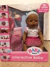 Baby Born Interactive Baby Doll Brown eyes HOT TOY 2017 Holidays Sale