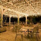 100 400LED Warm White String Fairy Lights Christmas Party Wedding Garden Decor