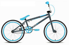 Rooster XR5 Freestyler Kids 20 Wheel BMX Bike Bicycle With Gyro Grey Blue RS153