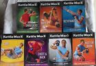 7 Kettleworx Kettlebell workout exercise fitness DVD lot arms chest core intro