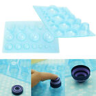 1Pc Plastic Paper Quilling Mould Half Ball Domes DIY Paper Craft Tool 1320cm TO