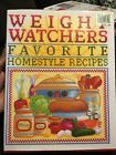 Weight Watchers Favorite Homestyle Recipes Vintage 1993 Hardcover