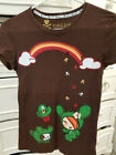 TOKIDOKI WOMENS SANDY TSHIRT PRE OWNED SIZE MBROWN