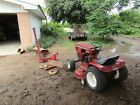 Wheel Horse Lawn and Garden Tractor Model 1 7235 Electro 12 with Implements