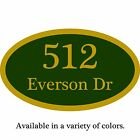 Custom Home Address Plaque Personalized Aluminum Sign 12 x 7 Choice of Colors