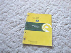 OMM115813 JOHN DEERE OWNER OPERATOR MANUAL F1145 FRONT MOWER