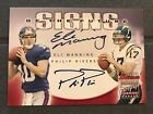 2004 Bowman Certified Dual-Auto ELI MANNING - PHILIP RIVERS #6 50 Rookie