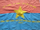 VIET CONG Battle Flag _ The total attack of liberation force_ Saigon - Gia Dinh.