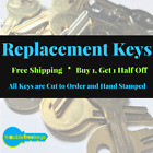 Replacement File Cabinet Key - Hon - 132 132e 132h 132n 132r 132s 132t