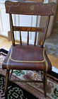 Antique American Primitive Hand Painted Side Chair